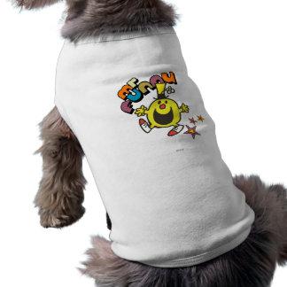 M Funny Stars Tee-shirts Pour Toutous