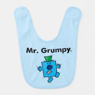M. Grumpy de M. Men | est un bougon Bavoir Pour Bébé