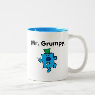 M. Grumpy de M. Men | est un bougon Tasse 2 Couleurs