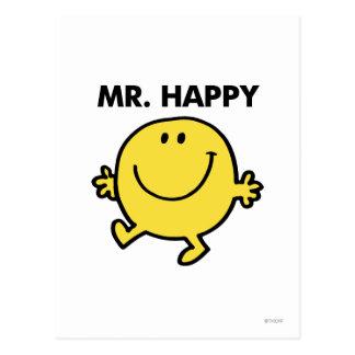 M. Happy | dansant et souriant Carte Postale