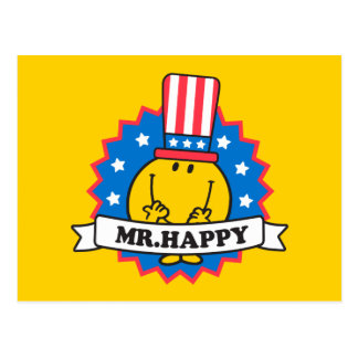 M. Happy Election Seal Carte Postale
