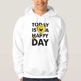 M. Happy | est aujourd'hui un jour heureux Veste À Capuche
