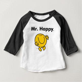 M. Happy Is Always Happy de M. Men   T-shirt Pour Bébé