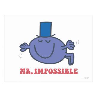 M. Impossible en vol Carte Postale