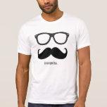 M. incognito - moustache et nuances drôles t-shirt
