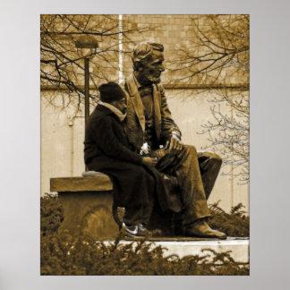 M Lincoln nous avons un nouveau président… Poster