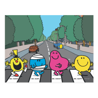 M. Men Abbey Road Walkers Cartes Postales