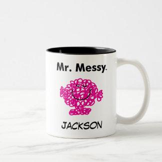 M. Messy Is Cute de M. Men |, mais malpropre Tasse 2 Couleurs