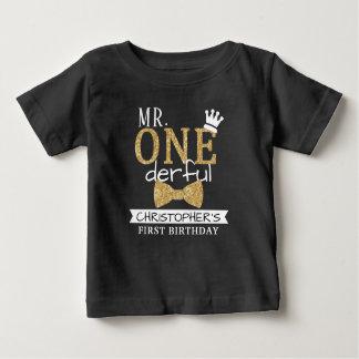 M. ONEderful 1er Birthday Toddler T-shirt