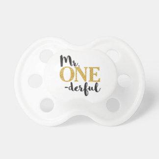 M. ONEderful Pacifier • 6+ mois de BooginHead® Tétine