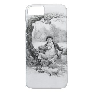M. Pickwick, de 'Charles Dickens : Un bavardage Coque iPhone 8/7