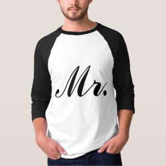 M. Raglan T-shirt de nouveaux mariés