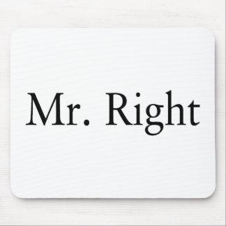 M. Right Tapis De Souris