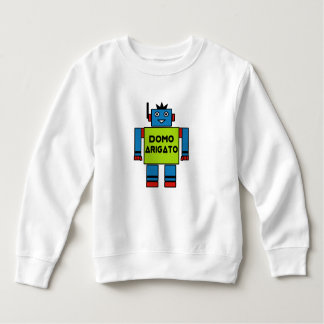 M. Roboto Toddler Fleece Sweatshirt de Domo