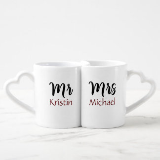 M. Son et Mme Him Personalized Mug
