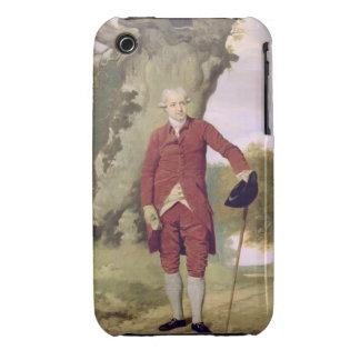 M Thrale c 1770-80 huile sur la toile Coque iPhone 3