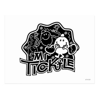 M. Tickle amusement noir et blanc de | Cartes Postales