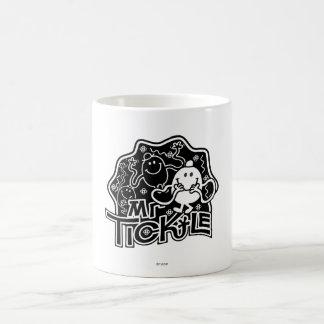 M. Tickle amusement noir et blanc de | Mug