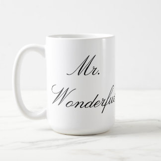 M. Wonderful Mug