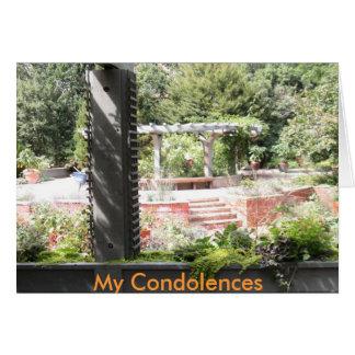 Ma carte de sympathie de condoléances