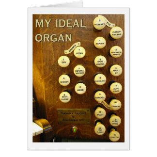 Ma carte idéale d'organe