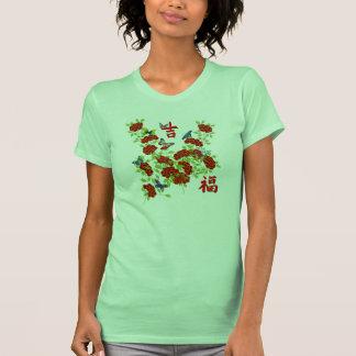 Ma chance de conception de style chinois de t-shirts