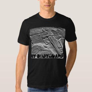 ma chemise de garde du corps t-shirts