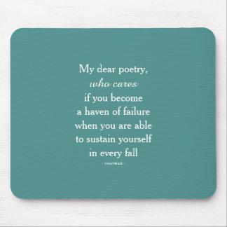 Ma chère Poetry Mousepad Tapis De Souris
