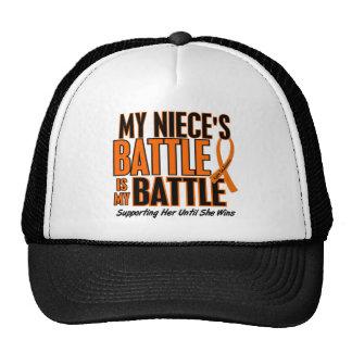 Ma de bataille leucémie de nièce trop casquette trucker