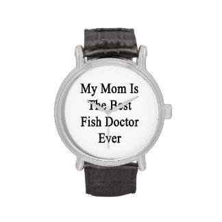 Ma maman est le meilleur docteur de poissons montres
