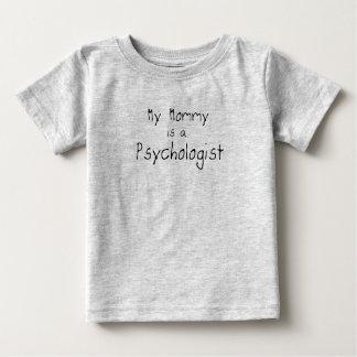 Ma maman est une psychologue t-shirt pour bébé