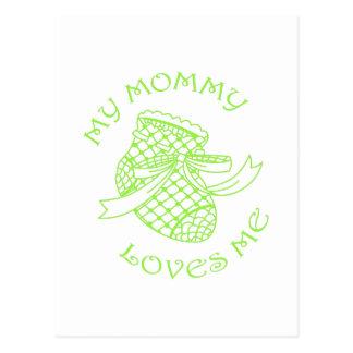 Ma maman m'aime cartes postales