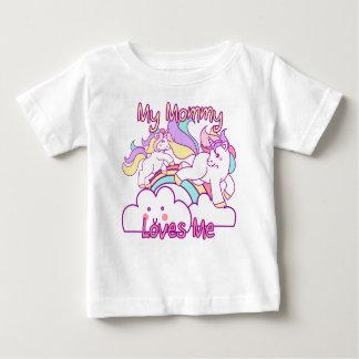 Ma maman m'aime licorne t-shirt pour bébé
