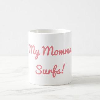 Ma maman surfe la tasse