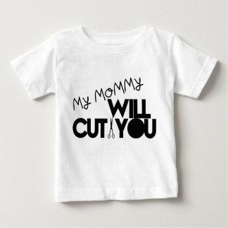 Ma maman vous coupera t-shirt pour bébé