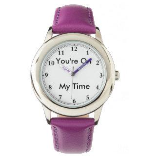 Ma montre de temps