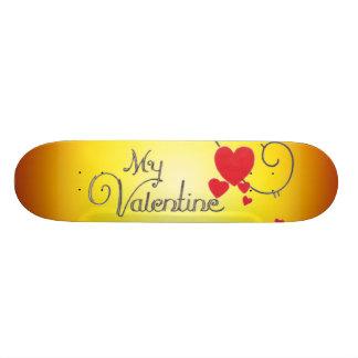 Ma planche à roulettes de Valentine Plateau De Skateboard