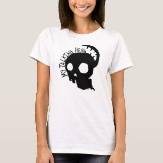 Ma porte-parole (courroie de spaghetti de dames) t-shirt