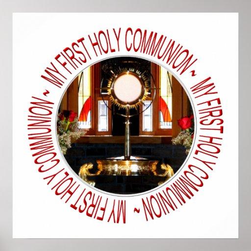 Ma première sainte communion affiche