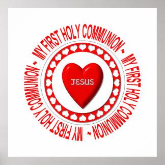 Ma première sainte communion poster