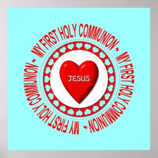 Ma première sainte communion posters