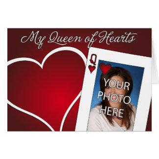 Ma reine des coeurs - amour de tisonnier cartes