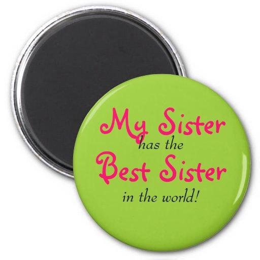 """Ma soeur aimant a meilleure soeur"""