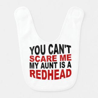 Ma tante Is A Redhead Bavoir