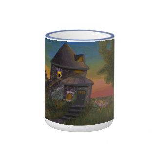 Ma tasse de café bleu-clair de sonnerie de 15 once