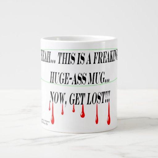 Ma tasse lundi matin enorme ! mug jumbo