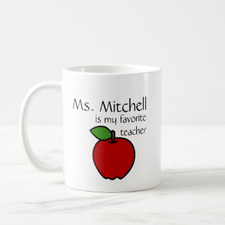 Ma tasse préférée de professeur - personnaliser