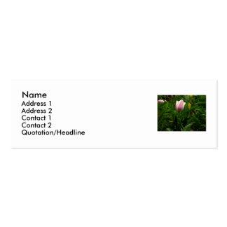 Ma tulipe de bébé carte de visite petit format