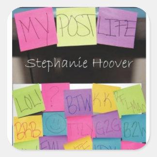 Ma vie de courrier sticker carré