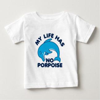 Ma vie n'a aucun marsouin t-shirt pour bébé